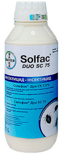 Сольфак Дуо СК 7,5% - средство от насекомых