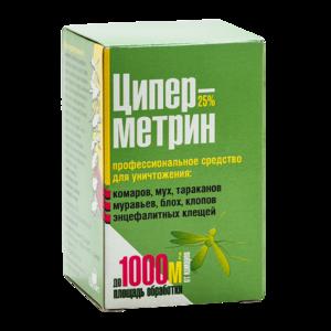 Циперметрин 25 инсектоакарицидный концентрат
